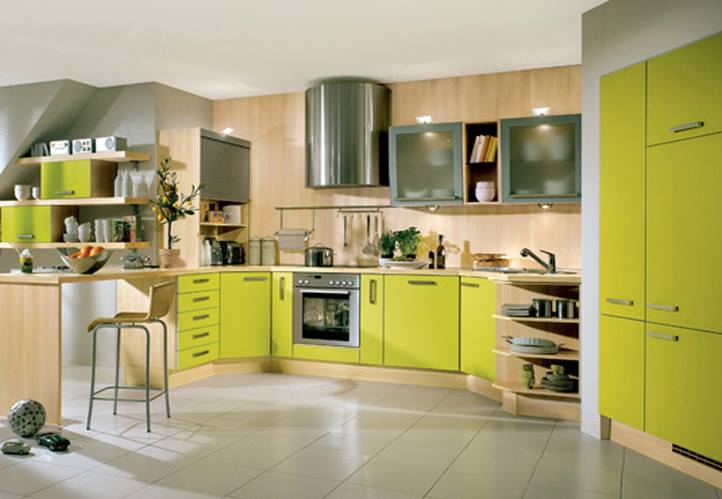 Cucine verdi 1 - Colour Factory