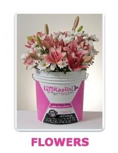 Pinkaolin flowers