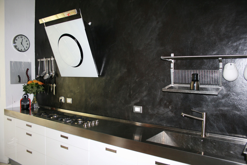 Pitture per cucina affordable with pittura pareti cucina - Pitture per cucina ...
