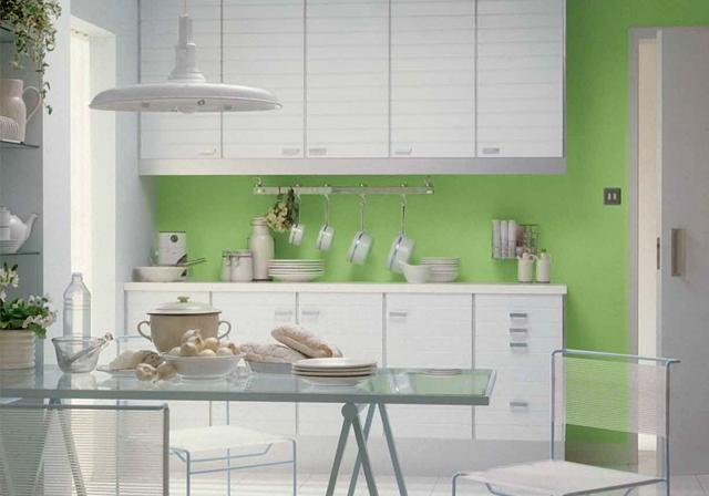 With pannelli per cucine al posto delle piastrelle - Resina in cucina al posto delle piastrelle ...